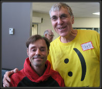 Herb and his friend at a Friendship Festival