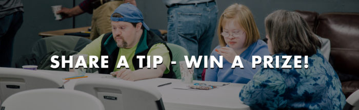 Share Tip Win Prize
